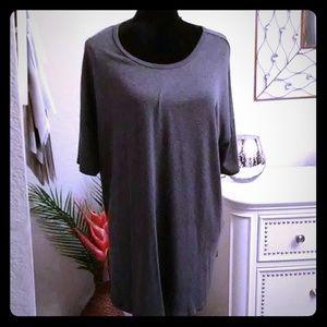 Gray tunic